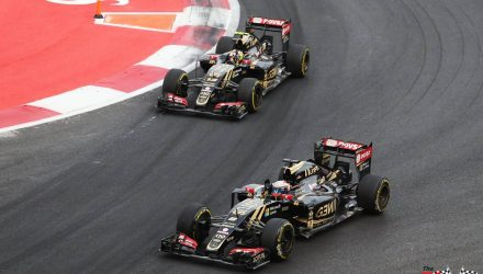 Lotus F1 Team in Mexico