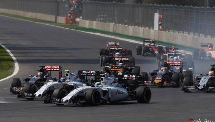 Bottas & Massa Mexican GP