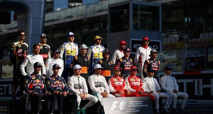 2015 F1 Drivers