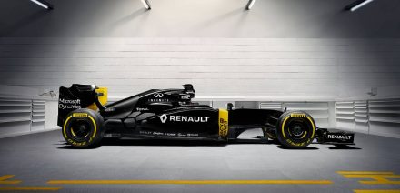 Renault RS16 Profile