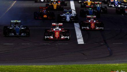 F1 Grid Melbourne 2016