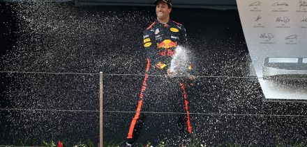 Daniel Ricciardo Chinese GP 2018